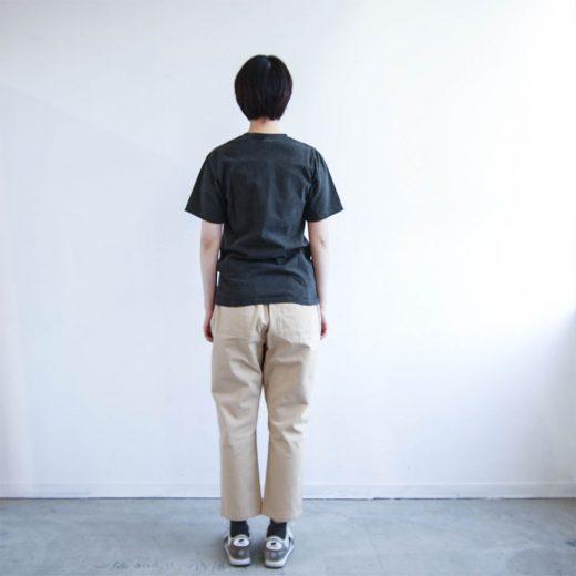 クルーネック ポケットTシャツ